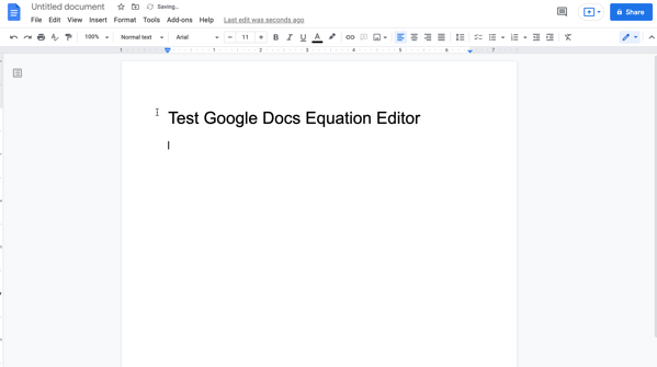 a Google Doc