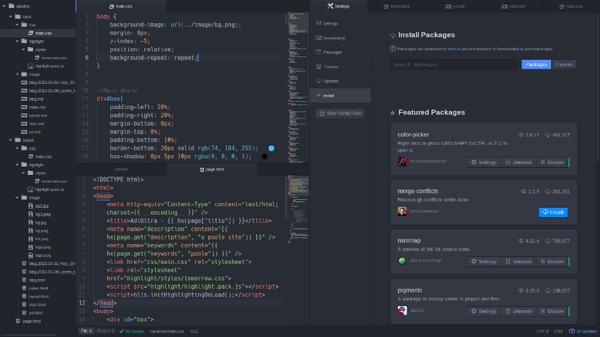 Atom Editor for Windows