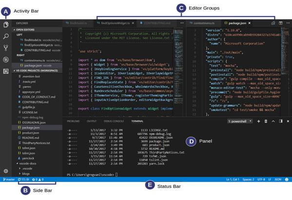 vscode IDE for windows